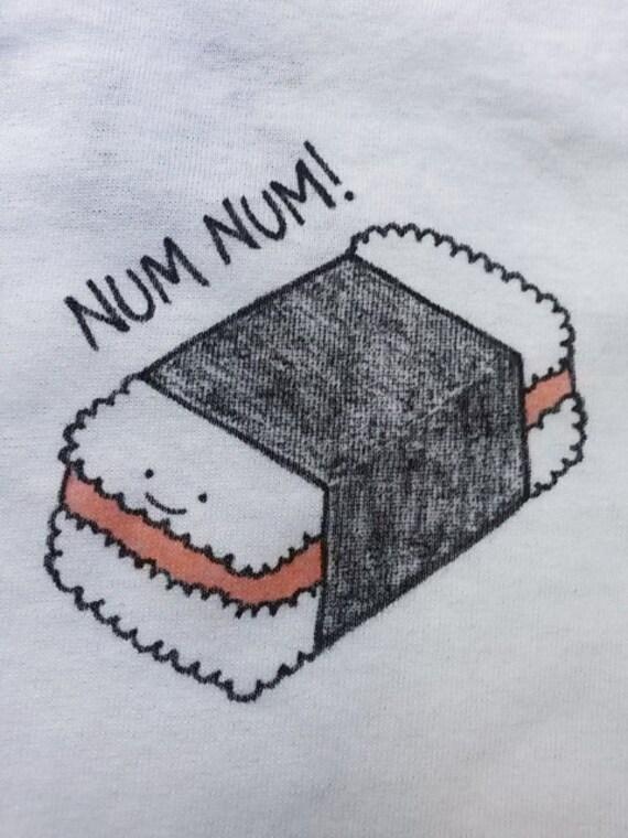 Spam Musubi Drawing Num Num Spam Musubi