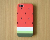 New iPhone 6 Phone case Now Available !! Pastel Watermelon Stripe iPhone 6 Case Cute Watermelon  iPhone 6 case iPhone 5S iPhone 5 iPhone 5C