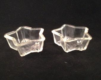 Vintage Queen Anne Phoenix Glass Star Molds