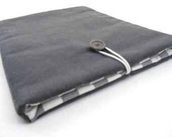 Grey custom tablet case - iPad cover - iPad Air cover