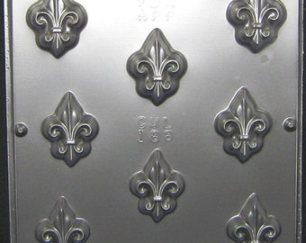 Fleur de Lis Candy Mold for Chocolate Candy Making 188
