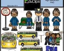 Rosa Parks Clip Art Bundle