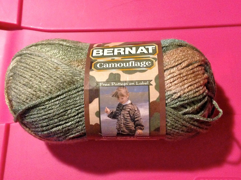 Bernat Camouflage Yarn 3 5oz