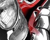 Mercedes-Benz 300SL Roadster Headlight Detail