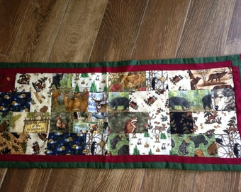 North Woods Table Runner #223