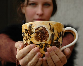 Popular items for large coffee mug on Etsy