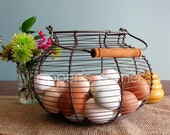 One dozen (12) Natural Hand Blown Eggs - EJ