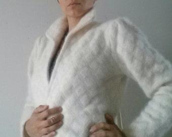 cream lambswool sweater