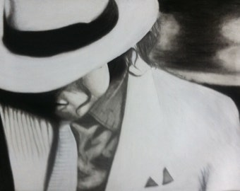 18x24 Drawing of Michael Jackson