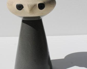 Vintage Mrs Pepper Sculpture Ceramic Art Pottery Eames Era Mid Century Modern Unique