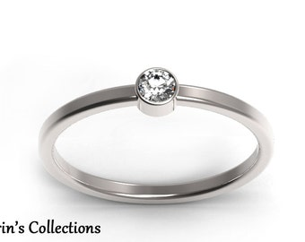 simple promise ring etsy