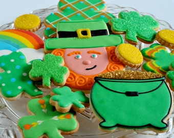 Lucky the Leprechaun St. Patrick's Day Cookie Collection