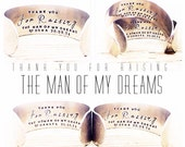Grooms Mother Gift | Thank you for Raising the Man of My Dreams | Mother in Law Gift | Wedding Gifts | Wedding Party Gifts By Glam and Co