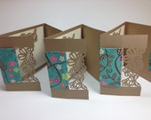 Shabby Chic Butterfly Note Cards 6 pack