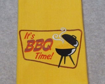 BBQ Tea Towel