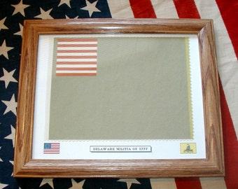 American Revolutionary War Flag......Delaware Militia Flag of 1776