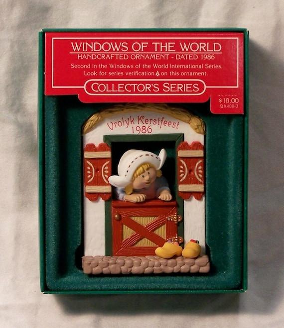 Hallmark Keepsake Series Christmas Ornament 1986 MIB