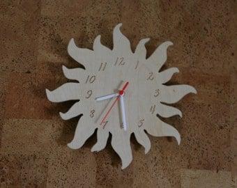 Wall Clock – Sun