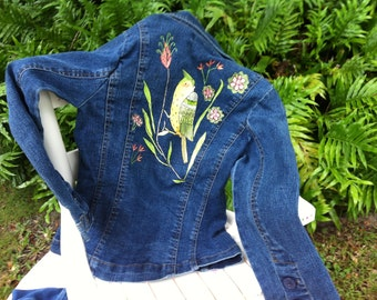Popular Items For Hand Painted Jeans On Etsy