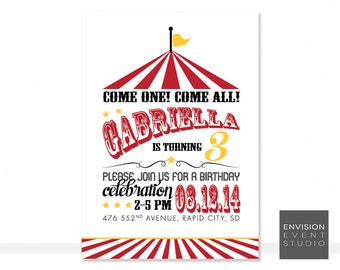 Printable Carnival Invitation