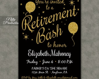 retirement invites