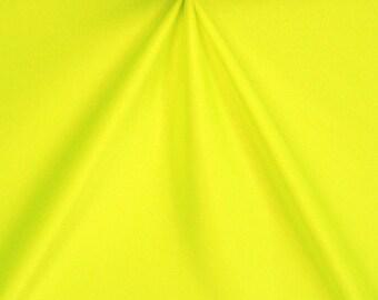 Spandex Fabric- Stretch Fabric - Shiny Neon Yellow Fabric, Four way Stretch Fabric, Fabric Swatch Item# RXPN-92207-5