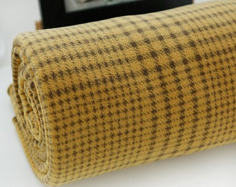 Fleece Fabric Houndstooth Check By The Yard