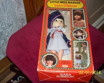 """1980 Little Miss Marker """"Sara Stimson """" Doll"""