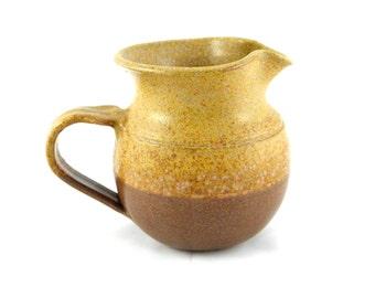 Vintage Studio Pottery Stoneware Creamer / Milk Jug