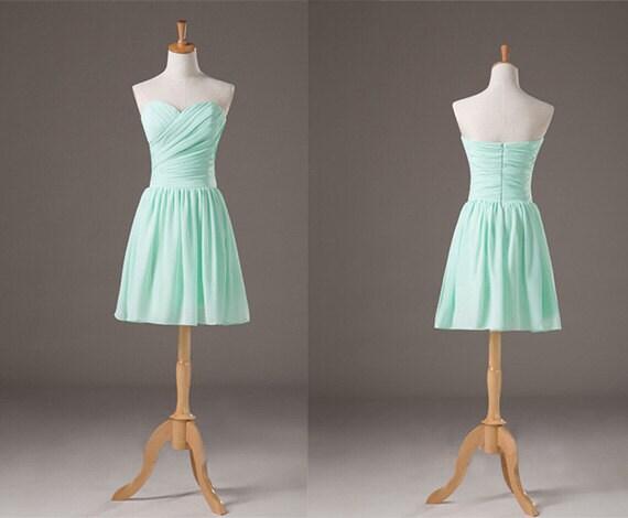 Short cinch waist afforadable bridesmaid dress by for Cinched waist wedding dress