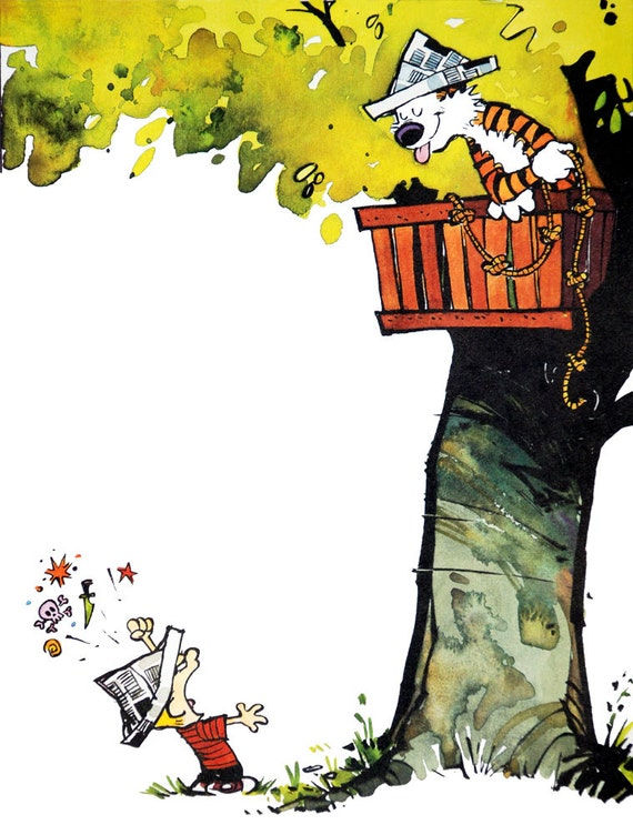 Calvin and Hobbes Tree House