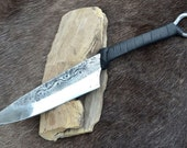 CRUACHAN Hand Forged CELTIC KNIFE Iron Age Replica Replicas Cutlery Knives