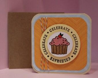 Birthday 'Celebrate' Card