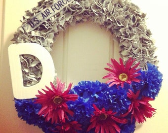 Patriotic Military ABU Wreath