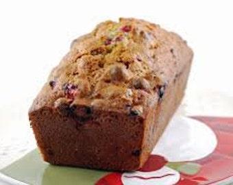 Homemade  Cranberry Orange Bread/ sugar free bread/gluten free/sugar free bread/vegan bread/birthday/anniversary gifts