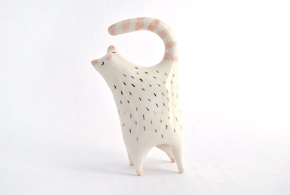 ceramic cat collectible