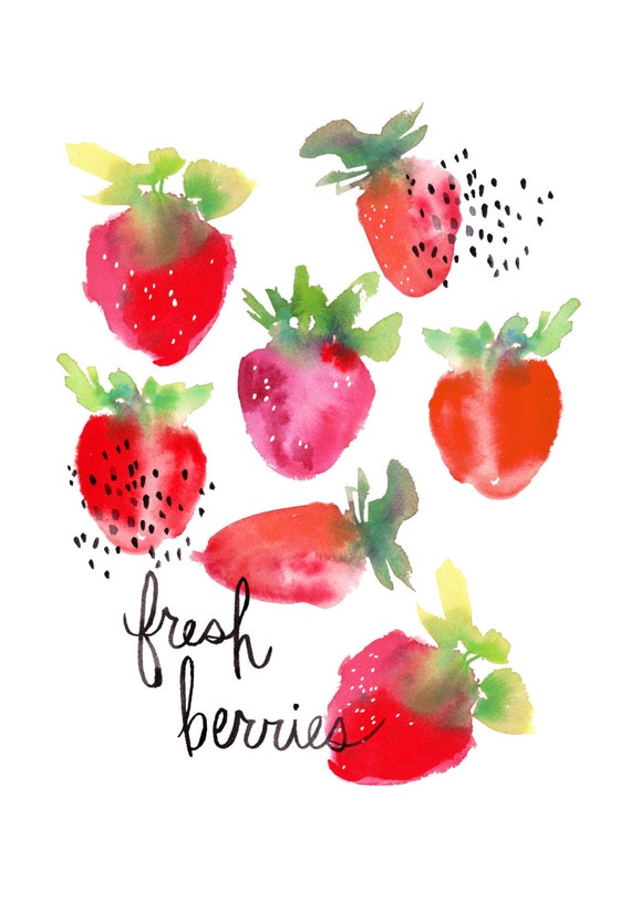 Fresh Berries - Archival Print