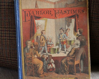 Antique Children's book published in 1887 by D. Lothrop & Co.