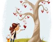 Sweet Tree Print