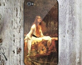 The Lady of Shallot John William Waterhouse Custom Personalized Phone Case Famous Art Painting iPhone4/4S iPhone 5 iPhone 5S iPhone 5C iPod