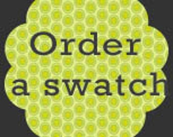 Order a Swatch / Fabric Sample