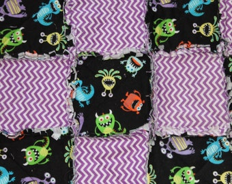 Monster Rag Quilt