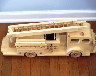 Hook and Ladder Fire Truck/child's holiday gift