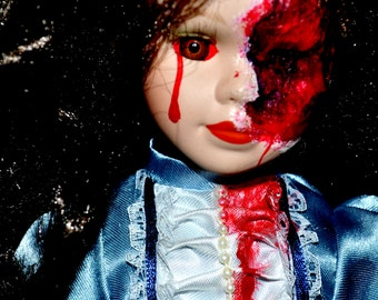 Victorian Zombie Doll
