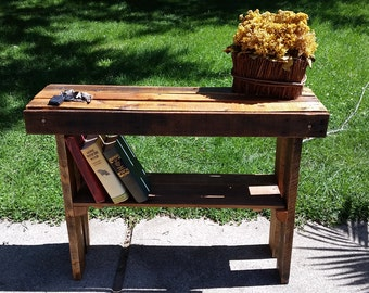 Entryway Pallet Table