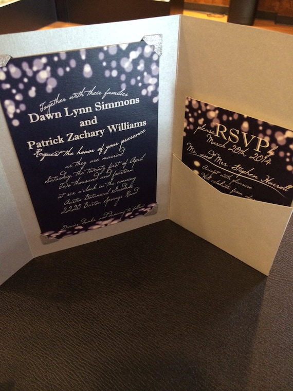 items similar to firefly wedding invitation and rsvp set With firefly wedding invitations etsy