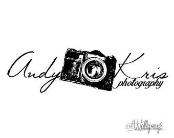 Photography Logo, Premade Photography Logo Design, Pre-Made Logo, Camera Logo