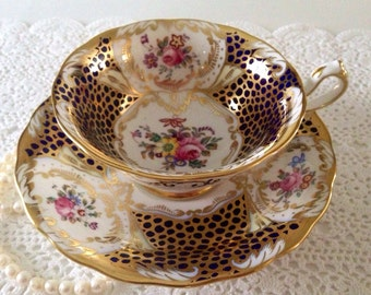 Royal Chelsea China Tea Cup & Saucer