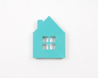 House Wall Hook - Mint // Nursery Decor // Kids Room Decor