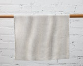 FREE shipping! 100% Linen Coral Stripes Dish Towel